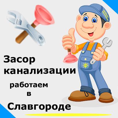 Засор унитаза в Славгороде